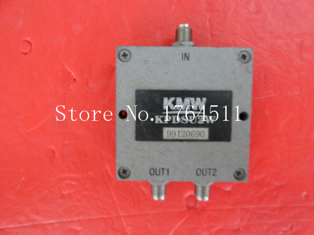 [BELLA] The Supply Of KMW Consists Of Two Coaxial Power Divider KPDSU2W SMA