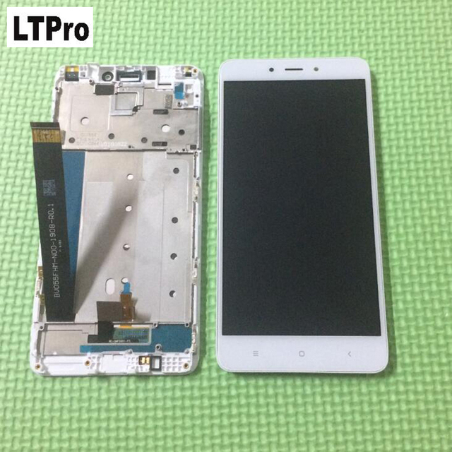 """LTPro 5.5"""" For Redmi NOTE 4 LCD Display Touch Screen Panel Digitizer Assembly +frame For Xiaomi Redmi Note 4 Pro Prime"""