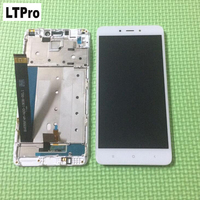5 5inch Redmi NOTE 4 LCD Display Touch Screen Panel Digitizer Assembly With Frame For Xiaomi
