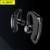 KJIMY Twins Handsfree Wireless Bluetooth Headsets Earphones Noise Cancelling Pair Bluetooth Headphone For Driver Office Sports