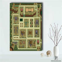 Custom The Legend of Zelda Ma Poster tree art  Printing Posters Cloth Fabric Wall Art Pictures For Living Room Decor#18-10-18-59