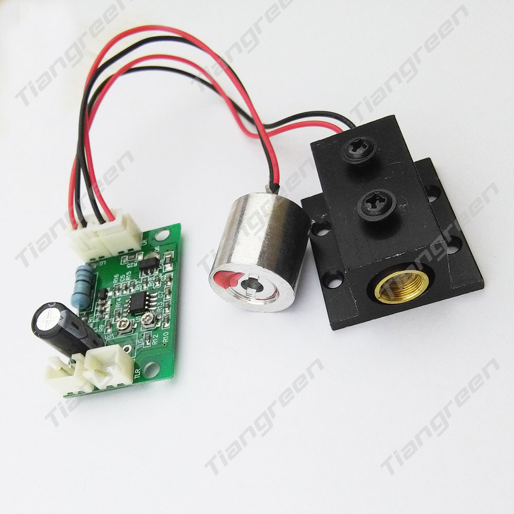 200mW 650nm 660nm Red Laser Module Diode and 532m 50mW Green Lazer Diode including TTL Driver Board Heat sink
