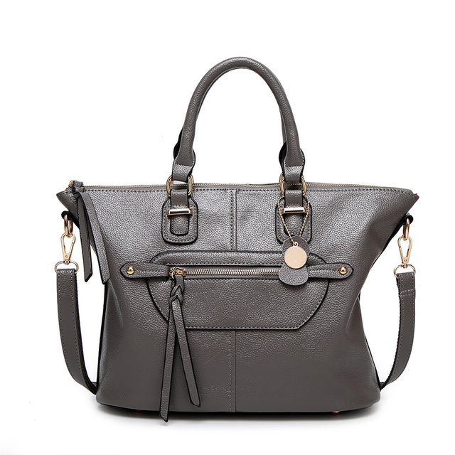 Unique Smile Face Style Design Of The Female Leather Handbags Pu Production To Meet Daily