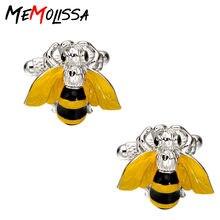 Memolissa 3 пары роскошные запонки для рубашек мужские подарки