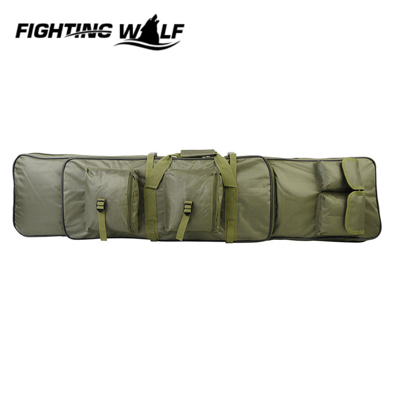 ФОТО 2 ColorsTactical Shooting Shoulder Bag 120CM Waterfroof High Density Nylon Material  Durable Combat Military Dual Rifle Bag