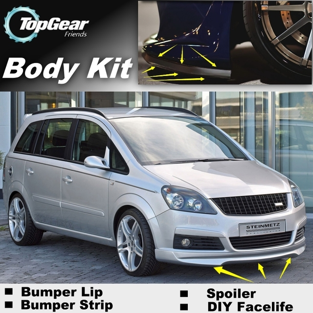 Bumper Lip Deflector Lips For Opel Zafira A B C For Chevrolet