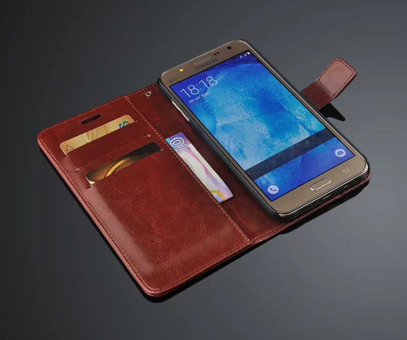 Image 5 - For Samsung Galaxy J5 J500 J7 J700 2015 Case Luxury Flip Wallet Retro Leather Cases for Samsung J5 J7 2015 2016 J510 J710 Coque-in Flip Cases from Cellphones & Telecommunications