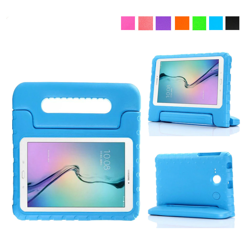 EVA Shockproof Case Light Weight Kids Case Protection Cover Handle Stand Case for Samsung Galaxy Tab E Lite 7.0 Tablet T113