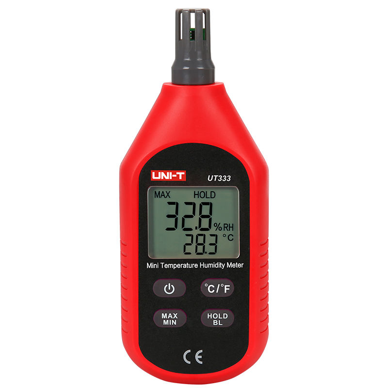 UNI-T UT333 Mini LCD Digital Thermometer Hygrometers Air Temperature and Humidity Meters Moisture Meter Sensor mini digital lcd thermometer humidity