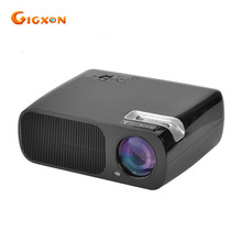 Gigxon-G20 proyector 2600 Lúmenes de Cine En Casa de Alto Brillo Digital 1080 P Cinema HD TV Video HDMI USB LCD LED Proyector 3D