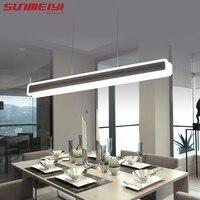โมเดิร์นไฟ LED จี้โคมไฟอะคริลิคโคมไฟแฟชั่น Living ห้องนอนตกแต่งร้านอาหารห้องครัวจี้ไฟ