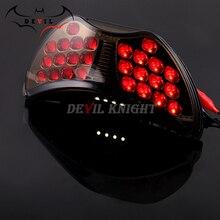 Мотоцикл светодиодный задний поворотник задние стоп Светильник лампы Интегрированный для Honda CBR 600 CBR600 F4 1999 2000 99 00 F4I 2004 2005 2006