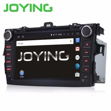 Joying 8″ Car Head Unit Quad Core Android 5.1 Double 2 Din Car Stereo Auto Radio DVD GPS Navigation For Toyota Corolla 2007-2013