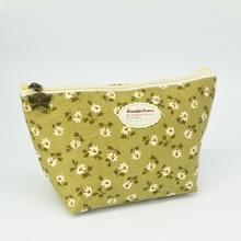 New Vintage Floral Printed Cosmetic Bag