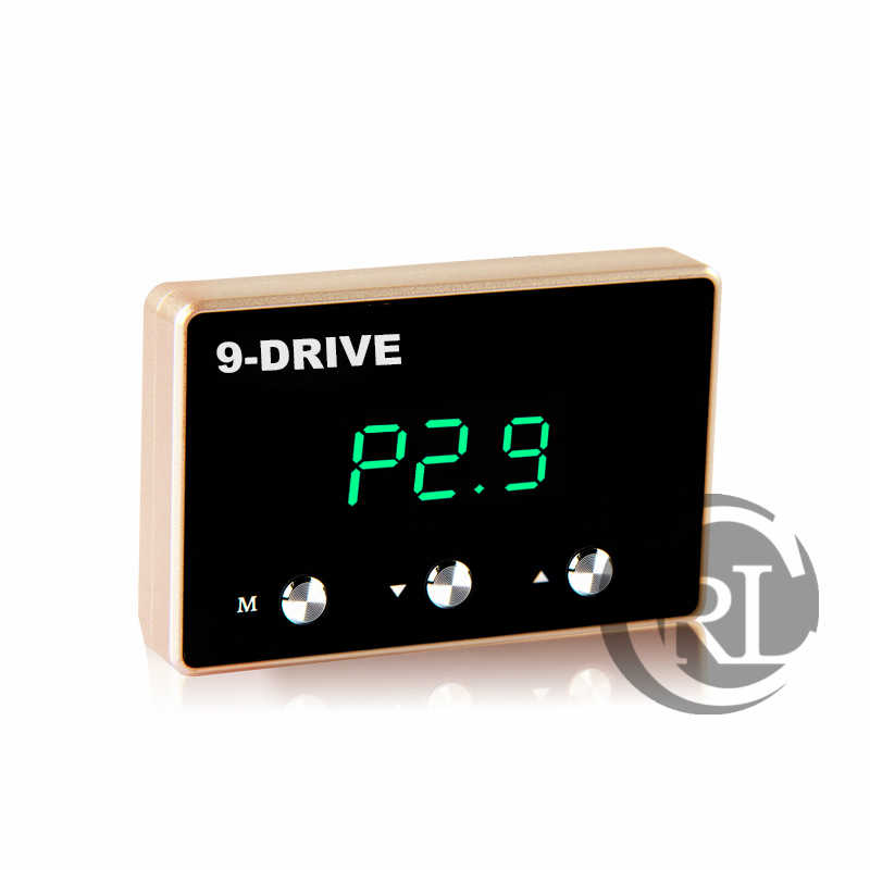 รถ Electronic throttle Controller 9 ไดรฟ์หน้าจอ LED Auto Strong Booster สำหรับ Mercedes-Benz เกรด S/E/ m/G GLK GL ML SERIES