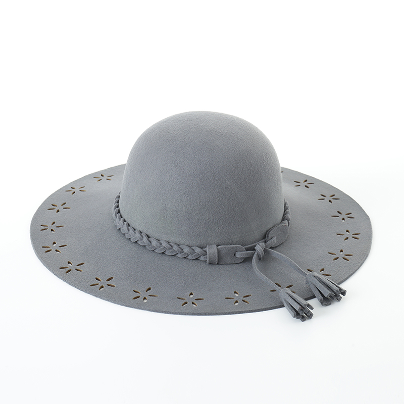 88053e54d1afe ... Black Wide Brim Wool Hat  Muchique Wool Felt Hat Black Wide Brim Floppy  Hat Women s
