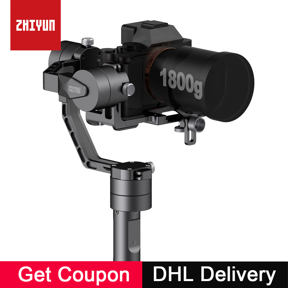Zhiyun Crane V2 3-Axis Handheld Camera Gimbal 3 Axis Video Stabilizer 3 32Bit Brushless Motors for Canon Nikon Mirrorless Camera free dhl newest zhiyun crane v2 2 3 axis brushless handheld video camera stabilizer gimbal kit for mirrorless dslr camera