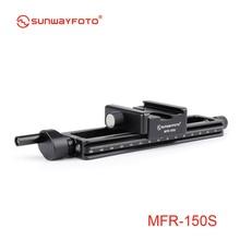 SUNWAYFOTO MFR-150s аксессуары для камеры Штативная головка Макросъемка фокусировка Макросъемка для фотосъемки