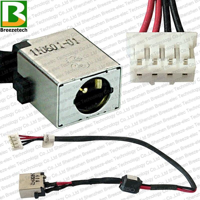 Original DC POWER JACK hembra de CABLE para Acer Aspire E5-511 E5-521 E5-551 E5-571 V3-572 50. ML9N2.002 DC30100RK00 DC30100QK00