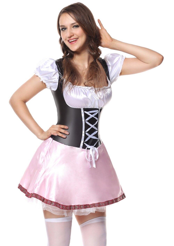 enorme sconto estremamente unico scarpe da corsa TITIVATE Bavaria Beer Girl Oktoberfest Halloween Costume da ...