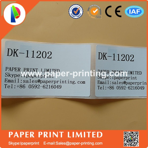 12 x Rolls Brother DK11202 White Shipping/Name Badge Labels 62x100mm-Compatible etiquette