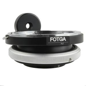 Image 2 - FOTGA anneau adaptateur dobjectif inclinable pour Canon EOS EF monture vers Micro 4/3 M43 M 43 E P3 G2 EPL5 EPL6