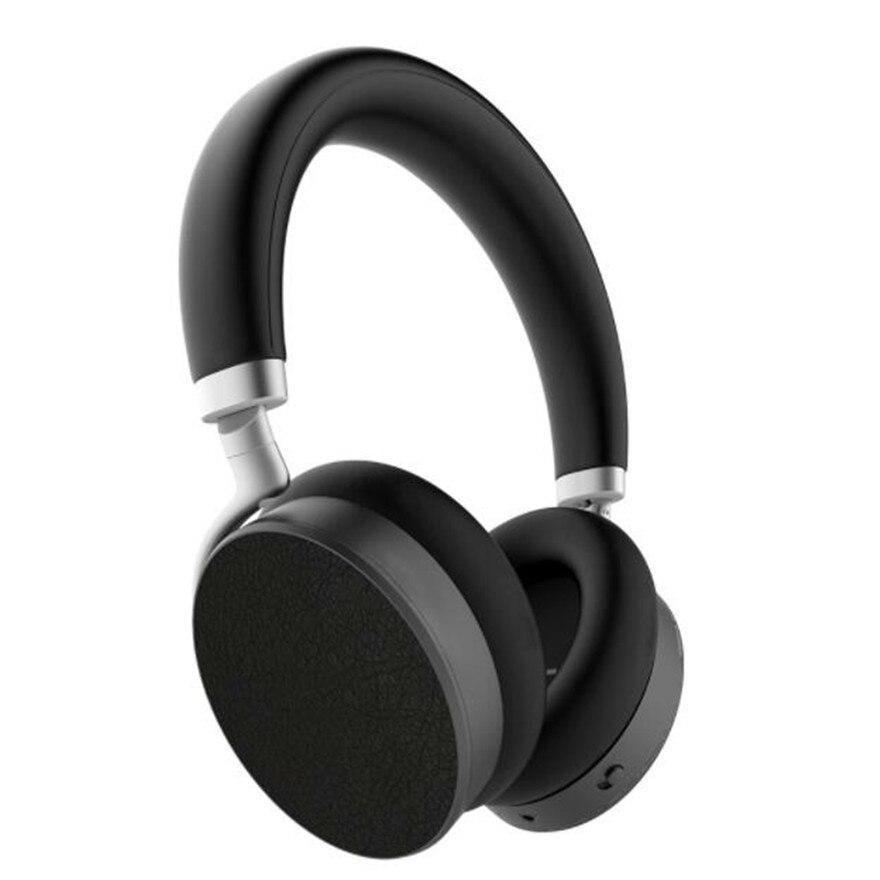 Anc активный шумоподавление Bluetooth над ушами наушники Проводная беспроводная гарнитура Pc Gamer гарнитура для мобильного телефона aptX HiFi наушники