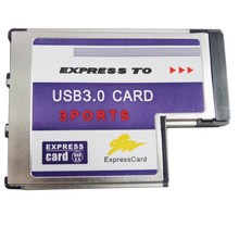Q00424 WBTUO BC718 Notebook Express to 3-Port USB 3.0 54MM FL1100 Expansion Card for Laptop