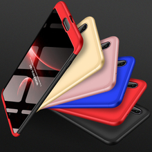 P20 Case For Huawei P 20 360 Degree Protected Full Body Phone for Shockproof Cover+Glass Film