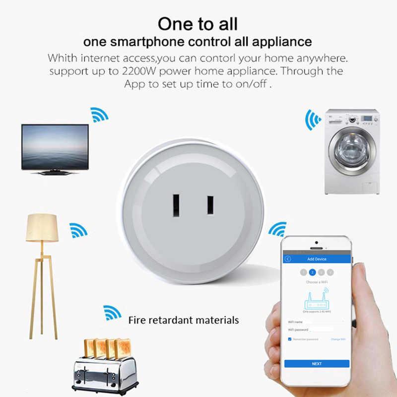 Новейшие японские Технические характеристики Мини Wifi интеллектуальная розетка приложение дистанционное управление розетка Голосовая синхронизация умная розетка JP вилка Homekit