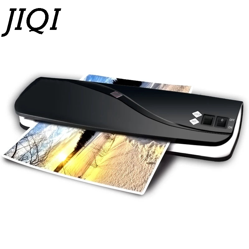 Professional Thermal Office Hot and Cold Laminator A4 Document Photo Packaging Plastic Paper Film Roll Laminating Machine EU US mini professional thermal office hot and cold laminator machine a4 document photo blister packaging plastic film roll laminator