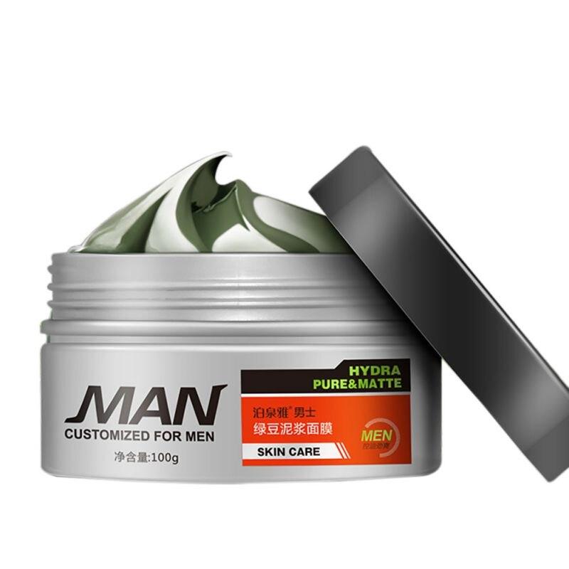 Nueva Llegada Natural Mung Bean Barro Cara Removedor de La Espinilla Del Tratami