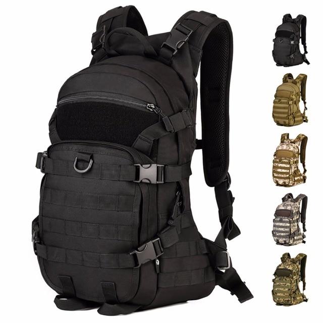 1000d Durable Nylon Military Assault Molle Backpack Men Daypack School Book Bag Laptop Bags Waterproof Rucksack