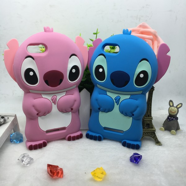3D Cartoon Stitch Soft Silicon Cover Phone Case For Wiko Rainbow ...