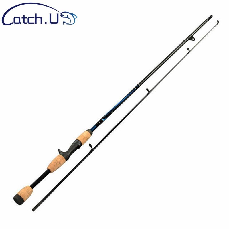 2 punta spinning pesca rod 7