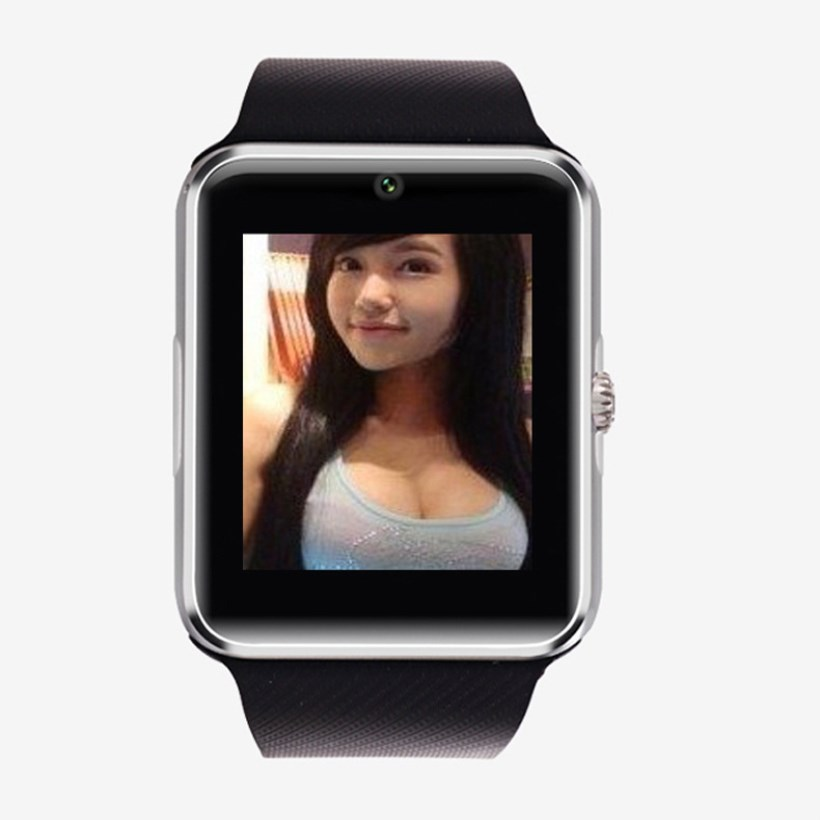 GT08 Smart Watch For Apple Watch Men Women Android Wristwatch Smart Electronics Smartwatch Can Use Camera SIM TF Card PK Y1