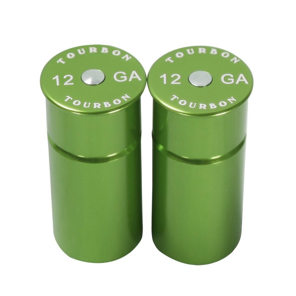 Rondas de entrenamiento táctico reutilizables Tourbon 12 GA Escopeta Snap Caps Casquillo de bala para caza Pin de encendido Proteger un paquete (2 piezas)
