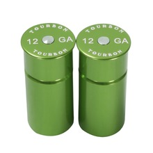 Tourbon Recycled Reusable Tactical Training Rounds 12 GA Shotgun Snap Cap 2 Pack Free Shipping толстовка 2 picche recycled