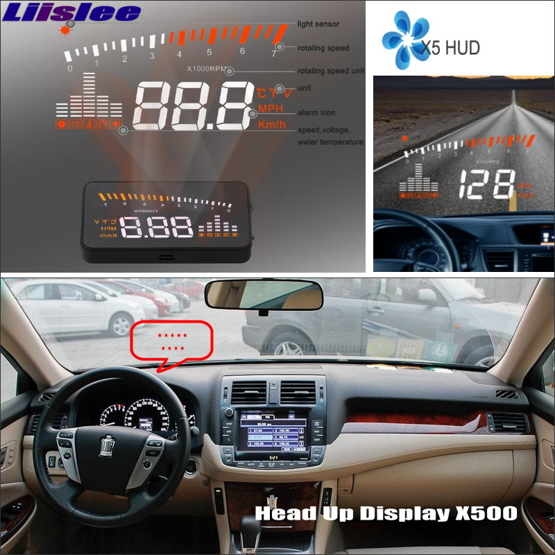 Liislee Car HUD Head Up Display For Toyota RAV4 RAV-4 RAV 4 2005~2012 - Safe Driving Screen Projector Refkecting Windshield распорка kf3 kx f3 rav 4 rav4