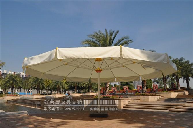 Oversized Beach Umbrellas Outdoor Leisure Sun Umbrella Umbrella 7 M 5 M  Square Round Umbrella ...