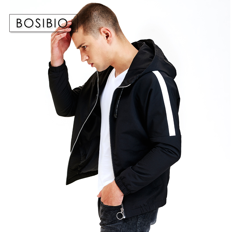 Enjeolon brand winter down jacket men light thick parka coat male solid color pocket coat male