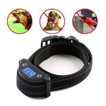 1 комплект антилай ошейник | Смарт ЖК-экран устройства, звуковой сигнал/вибрация/ударный режим | для маленьких средних и больших собак