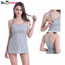 Pregnancy & Maternity Underwear Camisoles Tank Top Cotton Lace Nursing Bra Wireless Sleepwear Women Breast Feeding Sleep Clothes