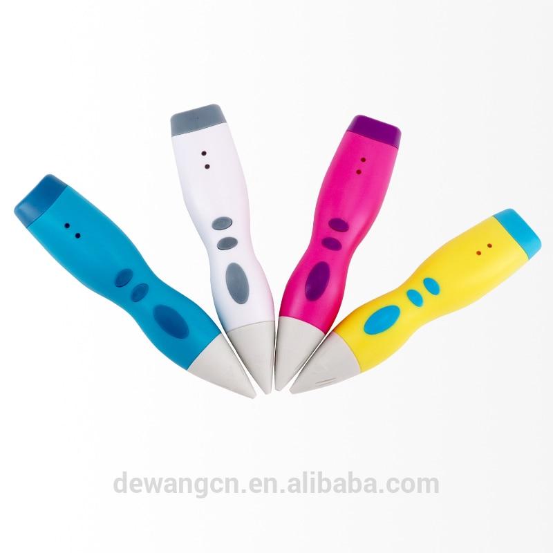 DEWANG 2019 date 3D dessin impression stylo D10 cadeau d'anniversaire PCL Filament USB magique gribouillage stylo meilleure vente
