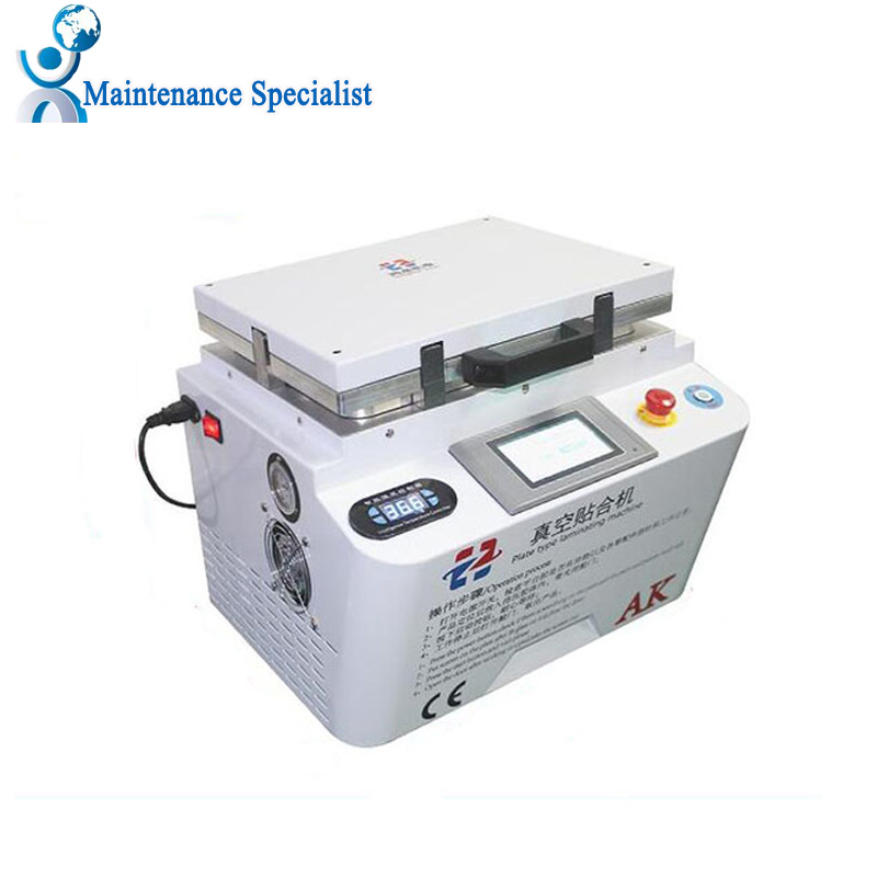Newest 2 in 1 Automatic Vacuum Laminating Machine Bubble Remover Machine Built in Pump and Air