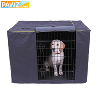 Pet Dog Cage Cover Waterproof Non slip Solid Extra Large Cat Dog Kennel Cover Collapsible Washable Travel Training Dog Products
