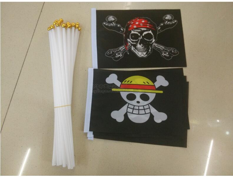 Free Shipping Xvggdg 100pcs Lot 14 21 Cm Small Pirate