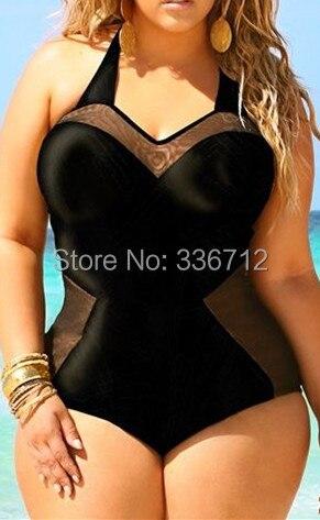 plus size 2015 vintage one piece swimwear sext monokini. Black Bedroom Furniture Sets. Home Design Ideas