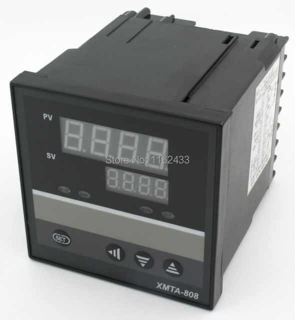 XMTA-8PK SSR output RS485 modbus interface 2 alarms ramp soak digital temperature controller