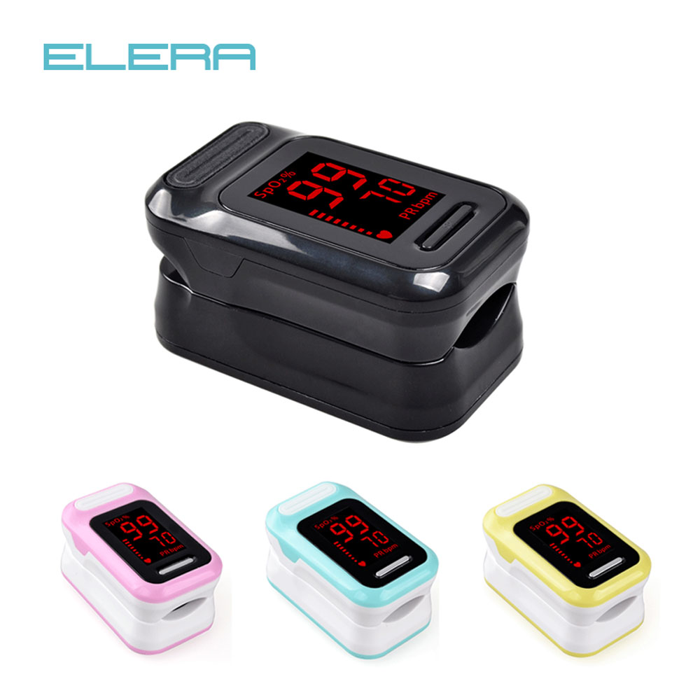 ELERA Pulse-Oximeter PR Finger Blood-Oxygen SPO2 Portable